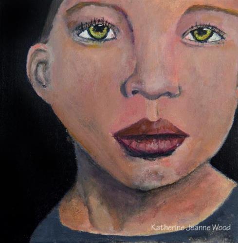 """""""5th Grader"""" original fine art by Katie Jeanne Wood"""