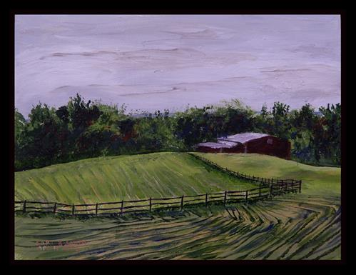 """Johnson Farm, Cuyahoga Valley National Park"" original fine art by Captain B Smith"