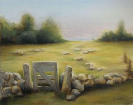 """Gateway #1301"" original fine art by Dee Lessard"