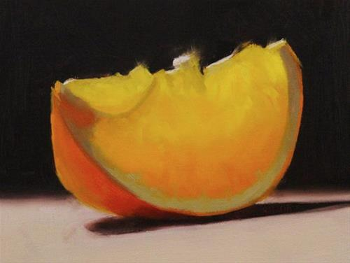 """A slice of Orange"" original fine art by Thorgrimur Andri Einarsson"