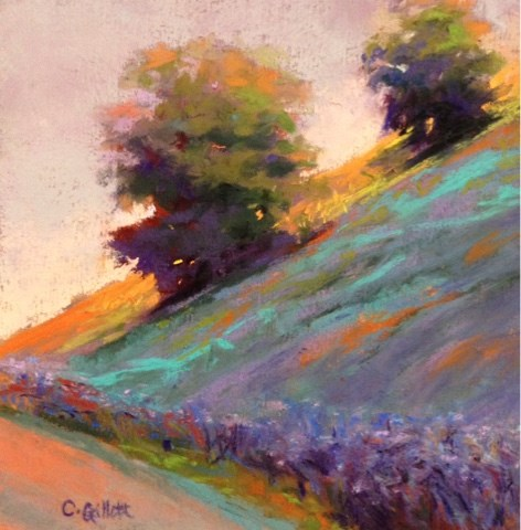 """Morning Roadtrip"" original fine art by Cindy Gillett"