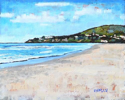 """Monarch Beach Painting, Dana Point California"" original fine art by Kevin Inman"
