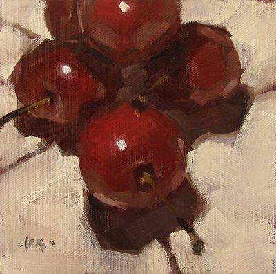 """Piled On"" original fine art by Carol Marine"