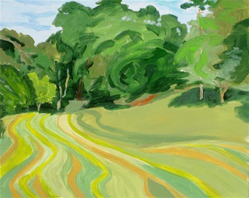 """Ashbridge"" original fine art by Priscilla Bohlen"