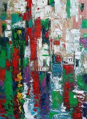 """The Riverside"" original fine art by Duc Tran"