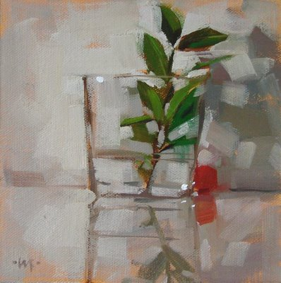 """Hideout"" original fine art by Carol Marine"