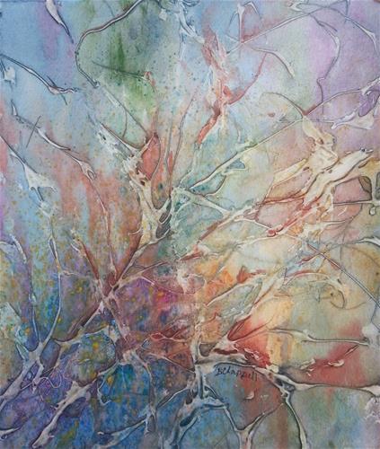 """Brush"" original fine art by Becky Chappell"