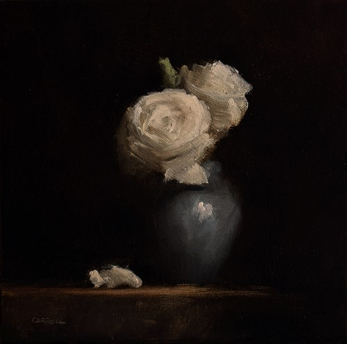 """Roses"" original fine art by Neil Carroll"