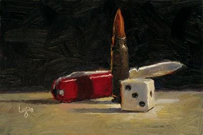 """More Small Stuff"" original fine art by Raymond Logan"