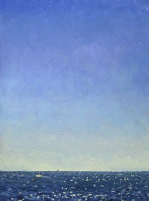 """Seascape No. 4"" original fine art by Abbey Ryan"