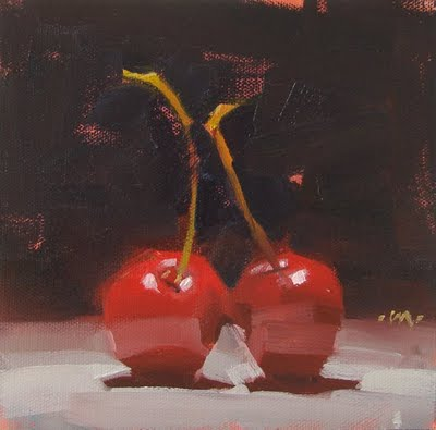 """Forever"" original fine art by Carol Marine"