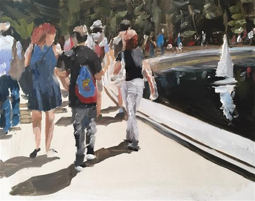 """Central Park"" original fine art by James Coates"