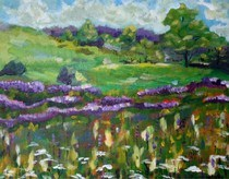 """What Spring is to Me"" original fine art by Maggie Flatley"