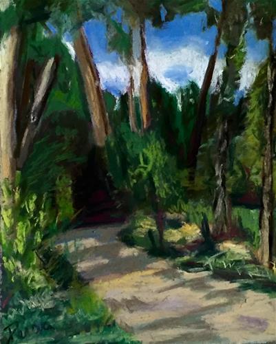 """Summer Stroll"" original fine art by Reisa Peters"