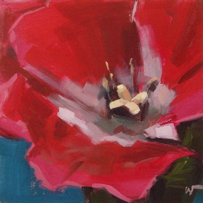 """Closeup"" original fine art by Carol Marine"