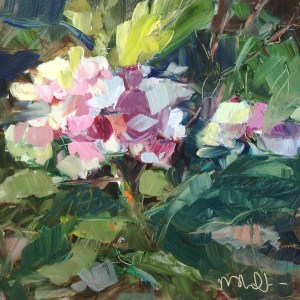 """Day 1 of 30 paintings in 30 Days"" original fine art by Melissa Jander"