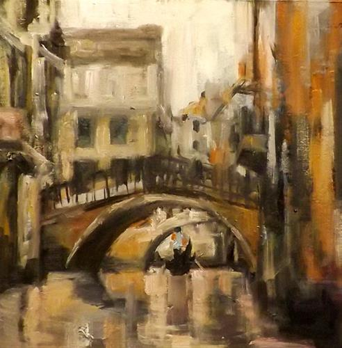"""Venice,A7"" original fine art by Run-      Zhang Zane"