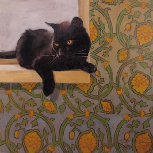 """""""Stevie Ray"""" original fine art by Diane Hoeptner"""