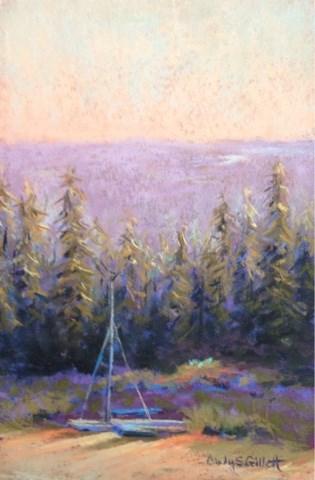 """""""Beached"""" original fine art by Cindy Gillett"""