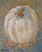 """White Pumpkin"" original fine art by J H Graves"