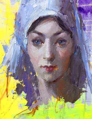 """A Day In Paris"" original fine art by Johanna Spinks"