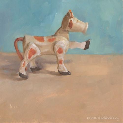 """Marching"" original fine art by Kathleen Coy"