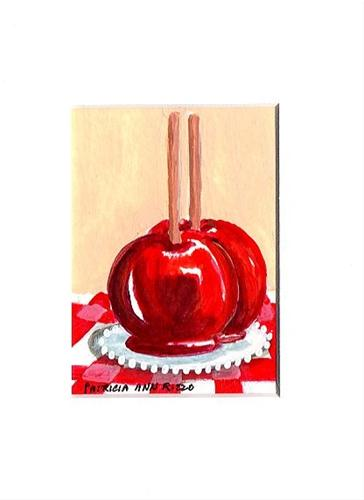 """Candyapples"" original fine art by Patricia Ann Rizzo"