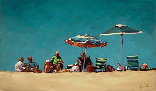 """""""Redneck Riviera"""" original fine art by Karin Jurick"""