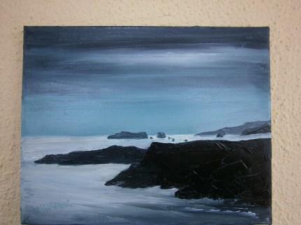 """""""'At the break of Dawn'"""" original fine art by Marie O' Higgins"""