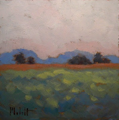 """Quiet Morning"" original fine art by Heidi Malott"