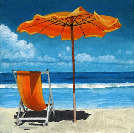 """Ready for Summer 2 SOLD"" original fine art by Ria Hills"