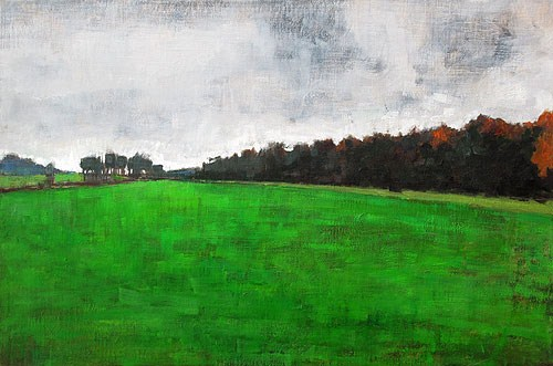 """Blacksburg,Virginia Farm Landscape"" original fine art by Kevin Inman"