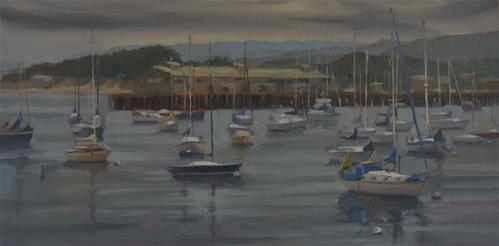"""Monterey Daybreak"" original fine art by John White"