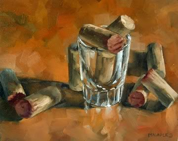 """Cork Collection"" original fine art by Michael Naples"