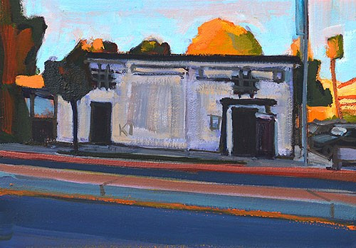 """Pecs, Hillcrest"" original fine art by Kevin Inman"