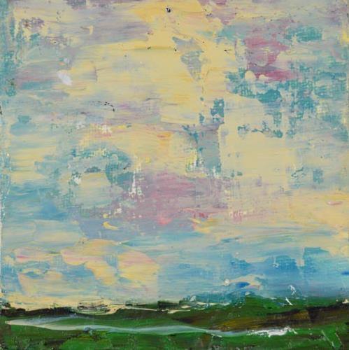 """Oil Landscape Painting No 26"" original fine art by Katie Jeanne Wood"