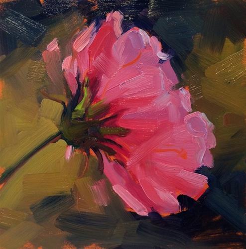 """Pinky"" original fine art by Deborah Newman"