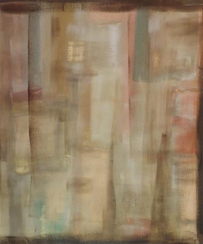 """""""Untitled"""" original fine art by Angele Sage"""