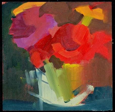 """""""1983 Patch"""" original fine art by Lisa Daria"""