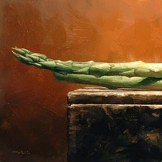 """Asparagus (left)"" original fine art by Michael Naples"