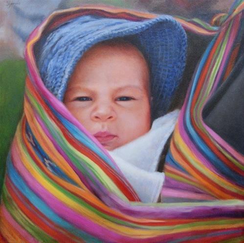 """""""Bundled"""" original fine art by Susan N Jarvis"""