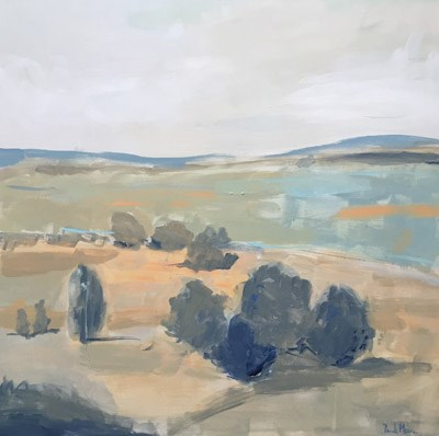 """Along Ridge Road"" original fine art by Pamela Munger"
