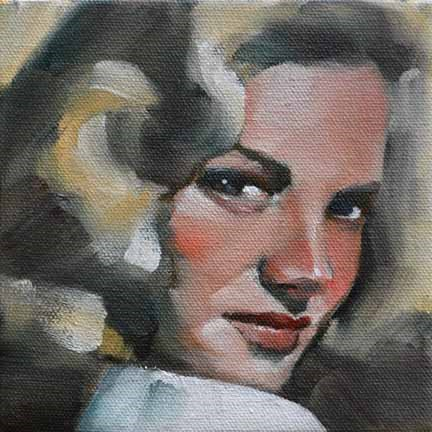 """Lauren"" original fine art by Cheryl Wilson"