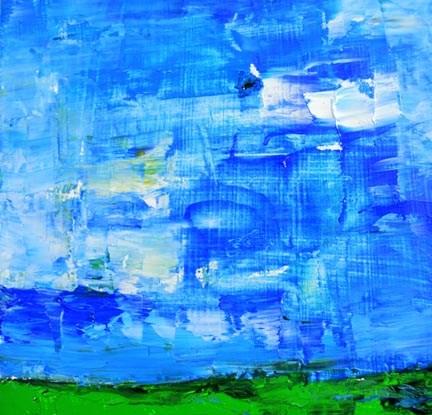 """""""Landscape 51"""" original fine art by Katie Jeanne Wood"""