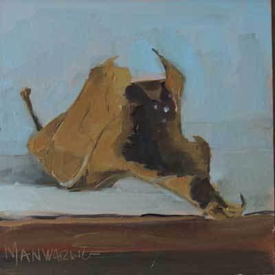"""""""Maple Leaf  #1"""" original fine art by Merle Manwaring"""