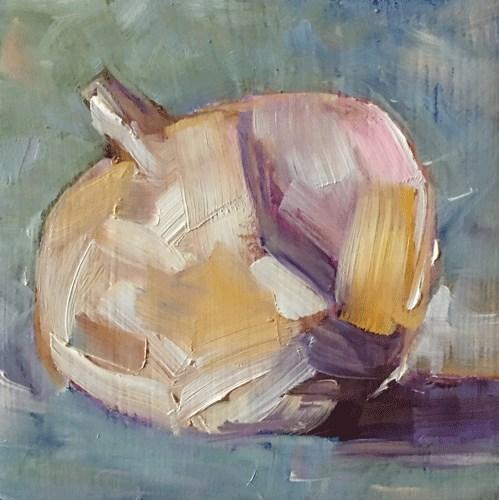 """""""Garlic"""" original fine art by Gigi De"""