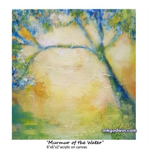 """Murmur of the Water"" original fine art by Marie K Godwin"