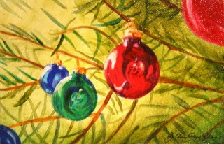 """Tree Jewelry"" original fine art by JoAnne Perez Robinson"