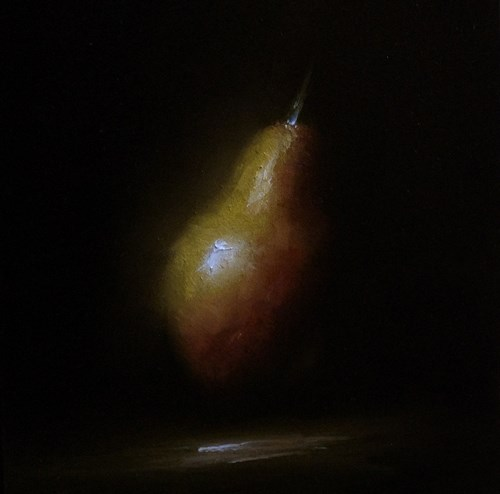"""Pear No,9"" original fine art by Neil Carroll"