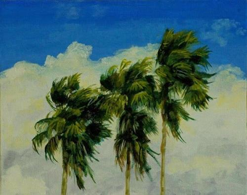 """The Wind Is Picking Up"" original fine art by Ted Michaelis"